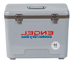 Engel Cooler/Dry Box 30 Qt - Silver