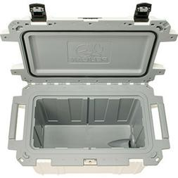 Cooler Pelican Elite 70 Quart Cooler White/gray Ice chest In