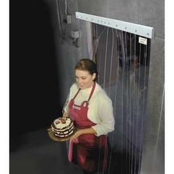 TMI 999-00209 Cooler/Freezer Strip Door,Rnfrcd,7ftH