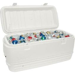 Igloo Cooler Large 120 Qt Polar White Insulated Ice Chest Dr