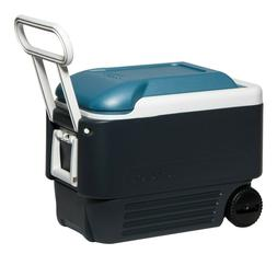 Cooler Igloo Maxcold 40 Roller With Wheels Cooler Extended P