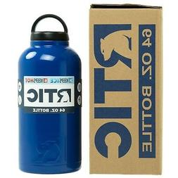 RTIC Coolers 64 oz Bottle Royal Blue - Double Wall Vacuum In