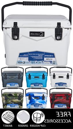 CASCADE INDUSTRIES COOLERS ROTOMOLDED ICE CHEST COOLER FREE