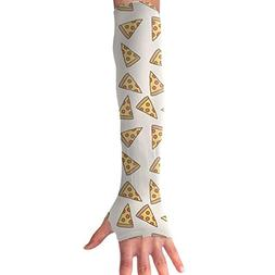 CIWO Cks Unisex Cooling Arm Sleeves Delicious Pizza UV Sun P