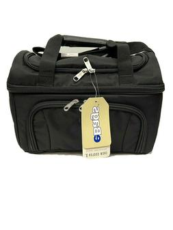 eBags Crew Cooler II Insulated Travel Work Lunch Box Bag Bla