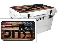 Custom Cooler Accessories Wrap Sticker Decal fits RTIC 65QT