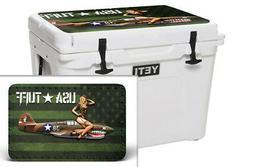Custom Cooler Accessories Wrap Sticker fits YETI Tundra 65QT