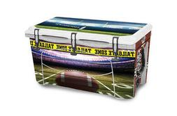 Custom Cooler Wrap Sticker Decal fits Grizzly 75QT FULL Foot