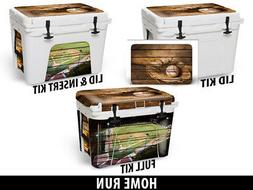 Custom Cooler Wrap Sticker Decal fits Grizzly 75QT FULL Base