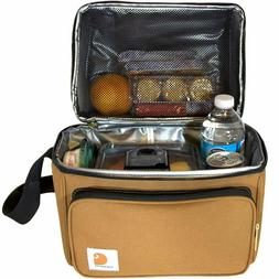 deluxe dual compartment insulated lunch cooler bag