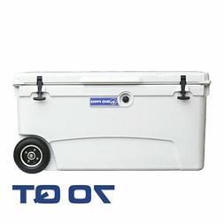 Big Frig Denali 70 Quart Insulated Wheeled Camp Cooler with
