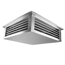 GSW DF-24S 24-Inch Stainless Steel 4-Way Adjustable Metal Di