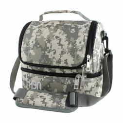 Nex Lunch Bag Double Cooler Carry Bag Travel & Office Lunch