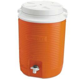 Durable Rubbermaid FG15300411 2 Gallon Orange Victory Therma
