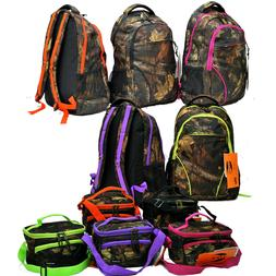 """""""E-Z Tote"""" Real Tree Hunting Backpack with Matching Lunch Co"""