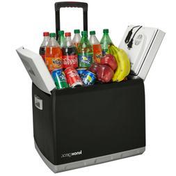 Knox Electric Travel Cooler and Warmer – 47 Quart  Portabl