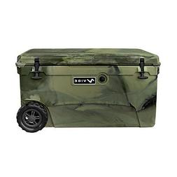 Vibe Element 70Q Rotomolded Cooler with Wheels - Hunter Camo