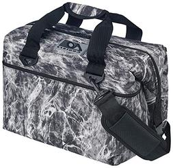 AO Coolers Elements Soft Cooler, 24 Pack, Manta, Grey Camo,