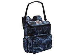 AO Coolers Elements Cooler, 18 Pack, Bluefin, Blue Camo, Bac