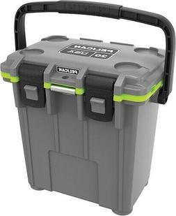 Pelican Elite 20Q1DKGRYEGR Cooler, 20 Qt, Dark Grey/Green MA