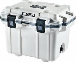 Pelican Elite 30 Quart Cooler White/Gray
