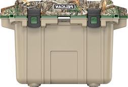 Pelican Elite Cooler, Realtree Edge Camo/Tan, 50 Quarts, Mol