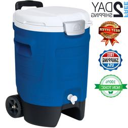 Emergency 5 Gallon Water Storage Container Carrier Jug Campi