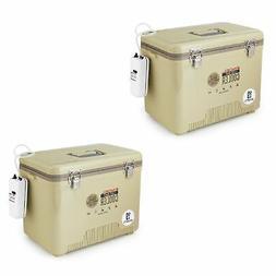 Engel 19 Quart Insulated Live Bait Fishing Dry Box Cooler w/