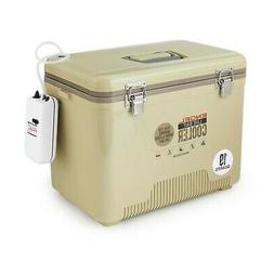 Engel 19 Quart Insulated Live Bait Fishing Dry Box Cooler Wi