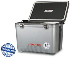 Engel Cooler/Dry Box 19 Qt - 16.6 x 11 x 13 inches - Silver