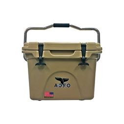 ORCA Extra Heavy Duty Cooler, Tan, 20-Quart by Orca
