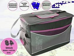 POLAR PACK Extra Large 48 Can Collapsible Cooler Bag Soft Po