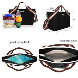 Sava Fashion Insulated Lunch Tote For Women & Men Adults Box