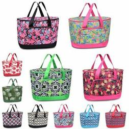 Fashionable Large Insulated Cooler Tote Carry Box Food Stora