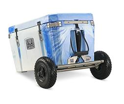 ORION Flip-Flop Cart Cooler Accessory - Removable Wheel/Axle