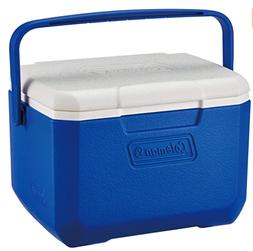 Coleman FlipLid Personal Cooler, 5 Quarts Blu