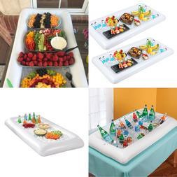 Inflatable Tabletop Cooler Food Drink Indoor Outdoor BBQ Pic