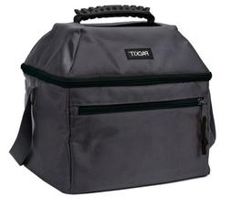 PackIt AMZ PKT-ES-CHA Freezable Lunch Bag, 18 Can, Charcoal