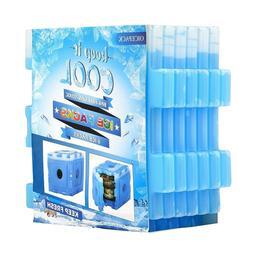 Freezer Pack Lunch Bag 6 Packs Reusable Coolers Cooler Long