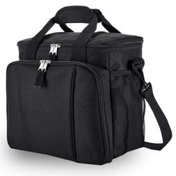 Fresh Lunch Bag for Work Insulated Cooler with Pockets for A