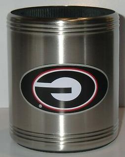 Georgia Bulldogs Insulated Stainless Steel Can Cooler Coozie