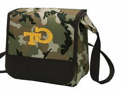 Georgia Tech Camo Lunch Bag Cooler Lunchbox Bags COOL MESSEN