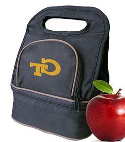 Georgia Tech Lunch Bag GT Yellow Jackets Lunch Box - 2 Secti