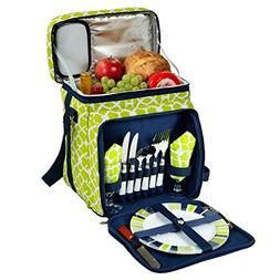 Green Picnic Cooler for 2