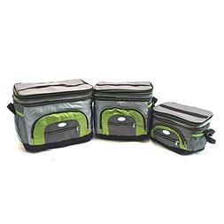Unique Imports Handheld Soft Can Cooler Bag Expandable Top w