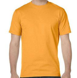 Hanes X-TEMP Men's TAGLESS 2-Pack Crew-Necks Yellow T-shirt