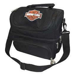 Picnic Time Harley Davidson Pranzo Insulated Lunch Tote Blac