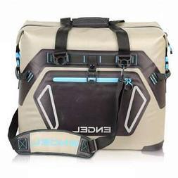 Engel HD30 Waterproof Soft-Sided Cooler Bag - Tan/Blue