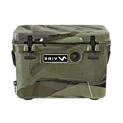 Vibe Heavy Duty 20 Q Roto Molded Cooler Ice Chest with Bottl