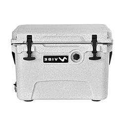 Vibe Heavy Duty 20 Quart Roto Molded Cooler Ice Chest with B